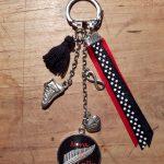 Porte clés cabochon